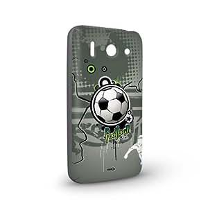 Handyschale Handycase für Huawei Ascend G510 veredelt mit YOUNiiK Styling Skin - Fan Artikel Fußball Football Splash