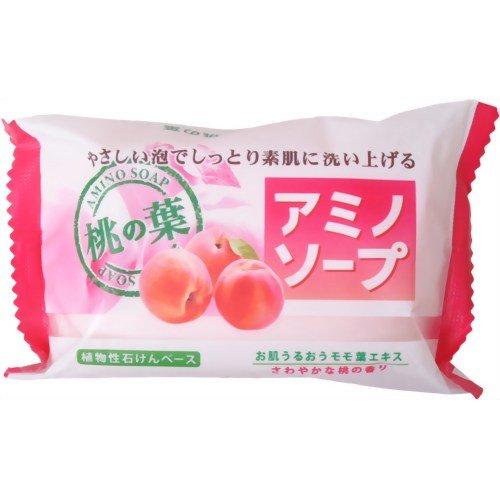 ペリカン アミノソープ 桃の葉 100g