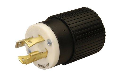 Reliance Controls L1430P L14-30P 30 Amp Generator Power Cord Plug For Up To 7,500 Watt Generators