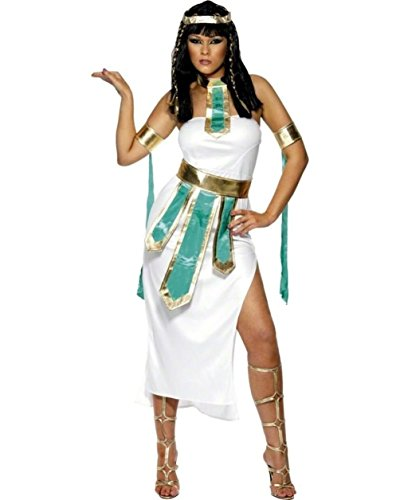 Jewel Of The Nile Cleopatra Costume Roman Dress White Adult Lady Greek Md 10-12 (Jewel Of The Nile Costume)