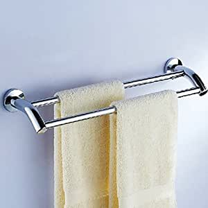 Bathroom towel rods