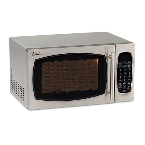 Avanti - 0.9 Cubic Foot Capacity Stainless Steel Microwave Oven, 900 Watts MO9003SST (DMi EA