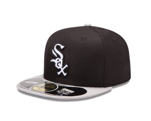 MLB Chicago White Sox Diamond Era 59Fifty Baseball Cap,Chicago White Sox,7.25 (White Sox Baseball Cap compare prices)