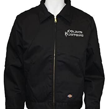 619f2c77 Count's Kustoms Dickies Embroidered Jacket Black As Seen on Tv Counting Cars