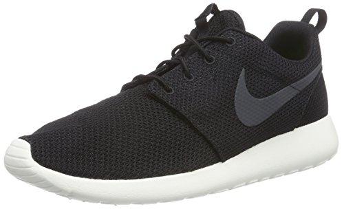 Nike Roshe One, Scarpe da Corsa Uomo, Nero (Black/Anthracite-Sail), 42