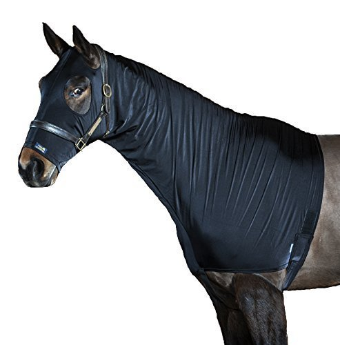 brillant-spectacle-capuche-elastique-en-lycra-cheval-capuche-2-couleurs-8-tailles-noir-s-m-fermeture