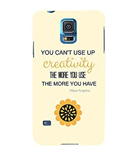 EPICCASE creative quotes Mobile Back Case Cover For Samsung Galaxy S5 (Designer Case)