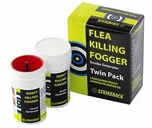 strikeback brumisateur pour tuer les puces paquet jumeau 1 bo te de 2 animalerie. Black Bedroom Furniture Sets. Home Design Ideas