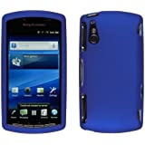 Wireless Solutuions 368199 Soft Touch Blue Snap-On Case for Sony Ericsson Xperia Play