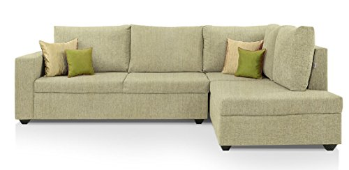 Comfort Couch Premium  Sectional Sofa Set (Cream)