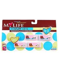 Amazon.com: My Life Mystuff Keys Fashions and Accessories: Toys
