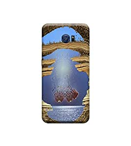 EPICCASE Premium Printed Back Case Cover With Full protection For Samsung Galaxy S6 Edge (Designer Case)