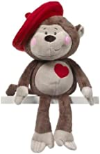 Eeks The Monkey 11quot - Holiday Stuffed Animal by Ganz HV9029