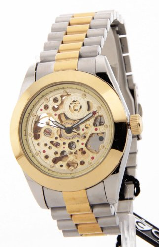 Croton Imperial Gents Two-Tone Stainless Steel 21 Jewels Automatic Watch C1331059TTSK