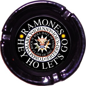 Ramones ~ Ramones Seal Glass Ashtray