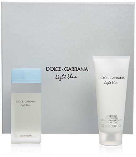 D&G Light Blue(W)Set Edt 50+Body Cr.100