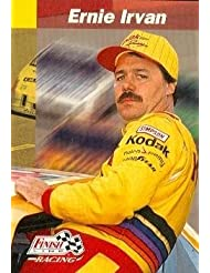Ernie Irvan trading card (Auto Racing) 1993 Finish Line #40 sale 2015