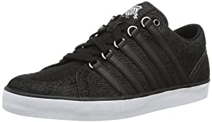 K-Swiss GOWMET II T VNZ 02815-017-M Herren Sneaker, Schwarz (black denim/white), EU 43 (UK 9)