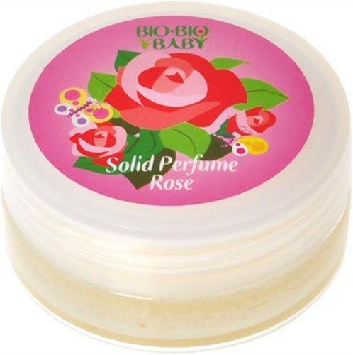 BIOBIOBABY ビオビオベイビー ソリッドパフューム 練り香水 ローズの香り イタリア製