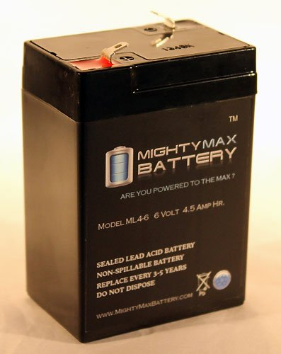 Ml4-6 - 6V 4.5Ah Ups Battery For Eagle Picher Cf6V4.5