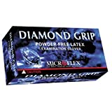 Microflex MF300XL-10PK - Diamond Grip Powder-Free Latex Gloves - Case Of 10 B...