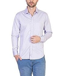 Threadikshion Men's casual shirt tdnpp02_Purple_Large