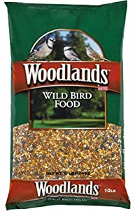 Kaytee Products 100034116 Woodland Wild Bird Food, 10-Lbs. - Quantity 72