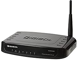 Digisol DG-BR4000NG Wireless Green Broadband Router, 802.11n 150 Mbps
