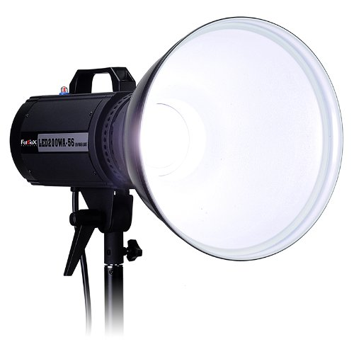 Fotodiox Led-200Wa-56 Daylight Studio Led, High-Intensity Led Studio Light For Still And Video With Dimmable Control (Black)