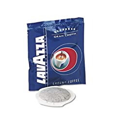 Gran Crema Espresso Pods, House Blend, 150/Carton, Sold as 1 Carton, 150 Each per Carton made by LAVAZZA