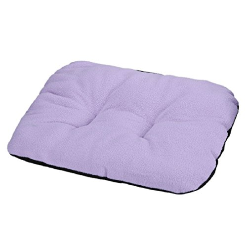 AutumnFall® Puppy Blanket Pet Cushion Small Dog Cat Bed Soft Warm Sleep Mat (E)