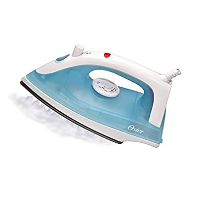 Oster 4405 1400-Watt Steam Iron (White/Blue)
