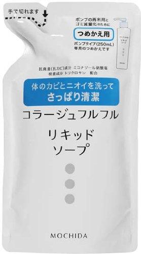 Collage Huru Huru Liquid Soap Refill 200ml | Body Wash | ( Japanese Import )