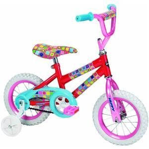 Educational Products - Huffy 12-Inch Girls So Sweet Bike (Candy Pink/Bubble Gum) - Features include a steel diamond frame and steel unicrown fork with pressed dropouts.
