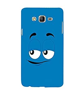 EPICCASE Blue eyes cartoon Mobile Back Case Cover For Samsung Galaxy E7 (Designer Case)