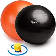 Exercise Ball, LuxFit Premium EXTRA T…