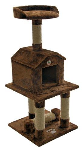 Go Pet Club 45-Inch Cat Tree, Brown Go Pet Club B0091OJD0E