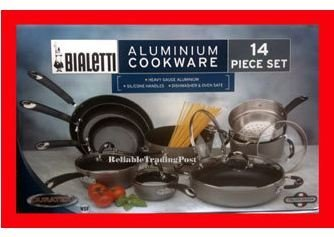 Bialetti 14-Piece Cookware Set