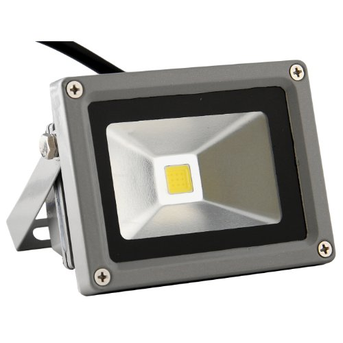 Abi 10W Led Outdoor Security Floodlight, Ac 85-265V, Waterproof (Daylight White)