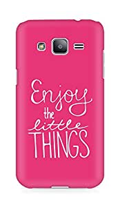 AMEZ enjoy the little things Back Cover For Samsung Galaxy J2