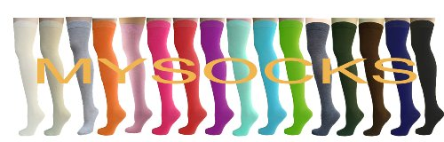 Unisex Adult Over The Knee High Long Socks All size for Men and Women