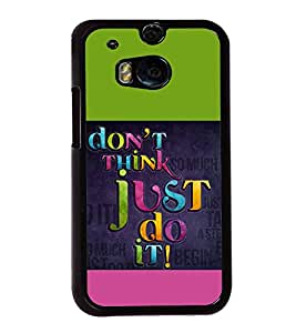 printtech Cool Quotes Back Case Cover for Huawei Honor 7 Enhanced Edition; Huawei Honor 7 Dual SIM with dual-SIM card slots