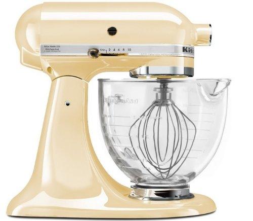 Kitchenaid 5-Quart Tilt Head Model Series Stand Mixer With Glass Bowl