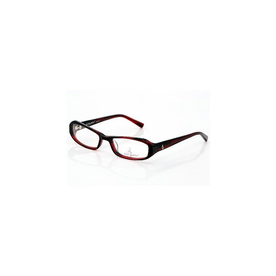 9060e7506904 BABY PHAT 225 Eyeglasses Dark Red DRED Optical Frame on PopScreen