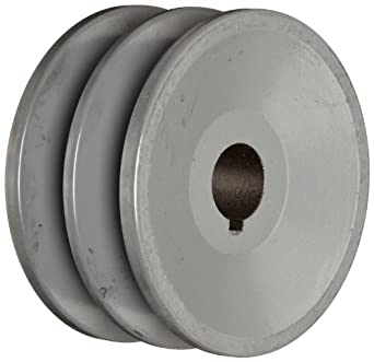 "TB Woods 2BK3234 FHP Bored-To-Size, 3.35"" Outside Body Diameter, 0.75"" Bore Diameter V-Belt Sheave"