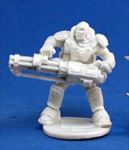 Grim Reaper miniature 80017 Bones - Chrono Imef - Reggie Van Zandt 1 Miniature