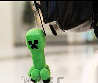 Minecraft Creeper Plush Toy Accesories Cushion Black Friday Deal from Jiajia