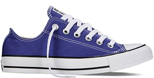 Converse Unisex Chuck Taylor All Star Low Top Periwinkle Sneakers - 8 B(M) US Women / 6 D(M) US Men