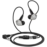 Sennheiser IE80 In-Ear 3.5mm Wired Earbuds Headphones (Black)