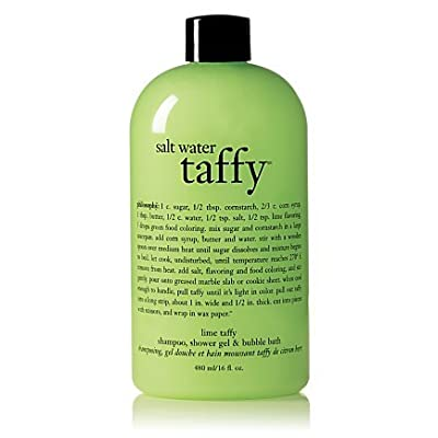 Amazon Com Lime Salt Water Taffy Shampoo Shower Gel Amp Bubble Bath Philosophy 16 Oz